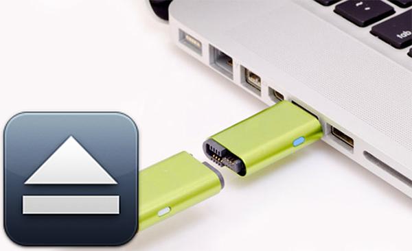 बेदखल करने के लिए कैसे, सही ढंग से, एक डिस्क, मैक ओएस एक्स पर या USB फ्लैश ड्राइव - प्रोफेसर-falken.com