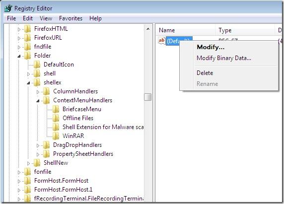 Come rimuovere le applicazioni dal menu contestuale di Windows - Immagine 4 - Professor-falken.com