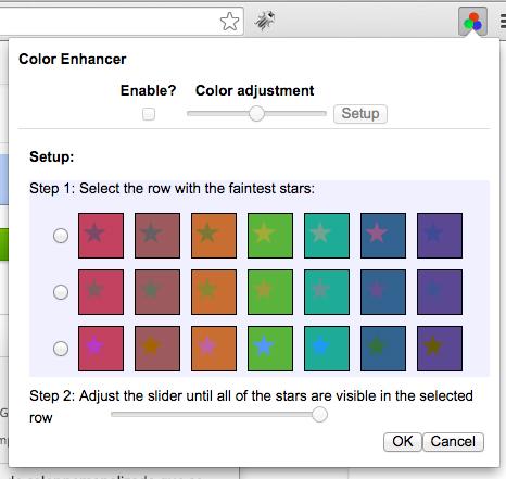 Una extensión de Chrome que ayuda a los usuarios daltónicos a ver la web - Image 3 - professor-falken.com