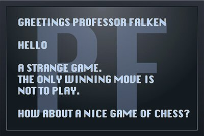 教授 Falken – 看到和感受到的技术,围绕着你