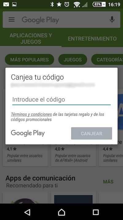 Wie man einen Promotion-Code in Google Spiel Store einlösen - Bild 3 - Prof.-falken.com
