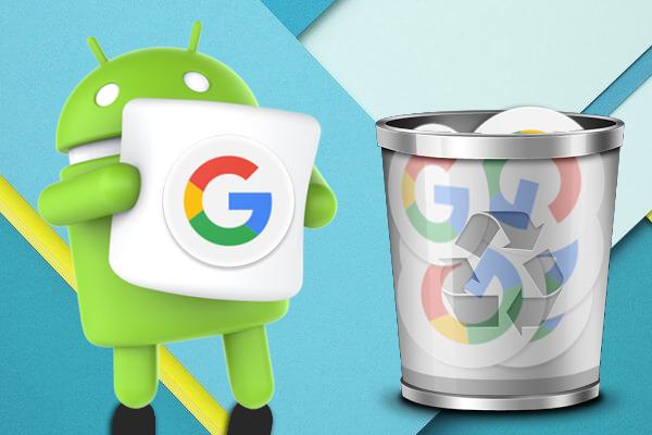 Как удалить ваш недавних поисков на Google на вашем Android телефоне - Профессор falken.com