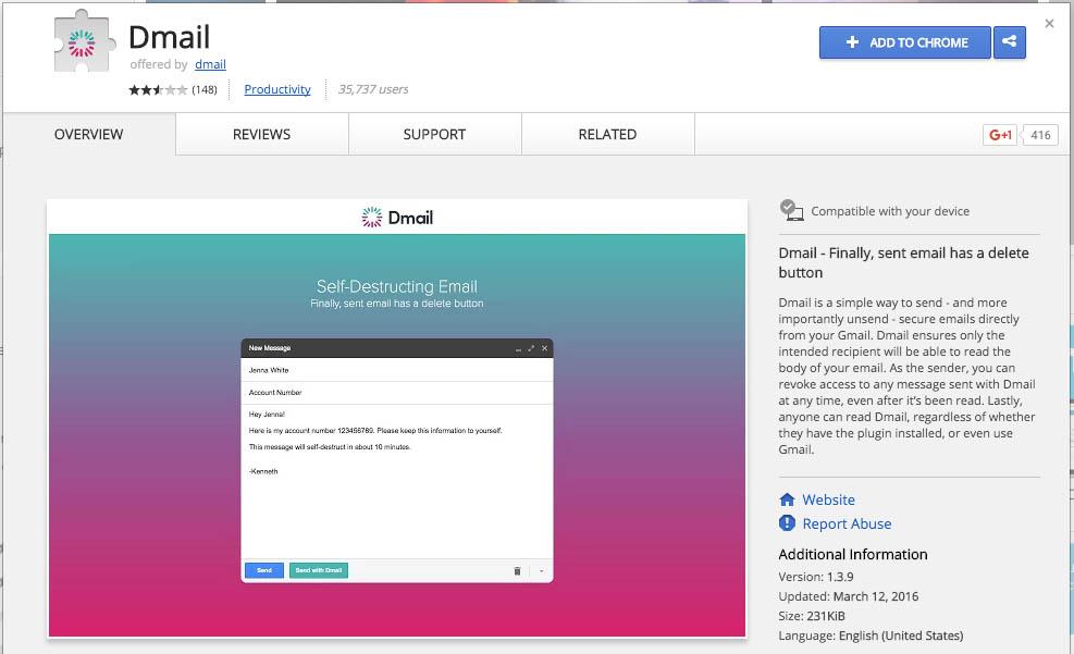 Cómo enviar correos electrónicos que se autodestruyen con GMail - Image 1 - professor-falken.com.jpg