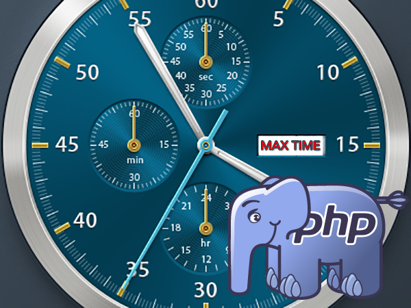 Cómo solucionar el error de tiempo de ejecución máximo Maximum Execution Time de PHP - प्रोफेसर-falken.com