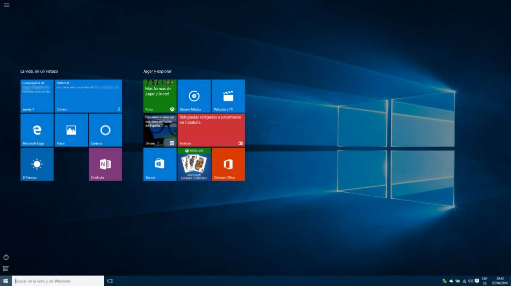 Come utilizzare l'interfaccia posteriore Windows Metro 8 in Windows 10 - Immagine 4 - Professor-falken.com