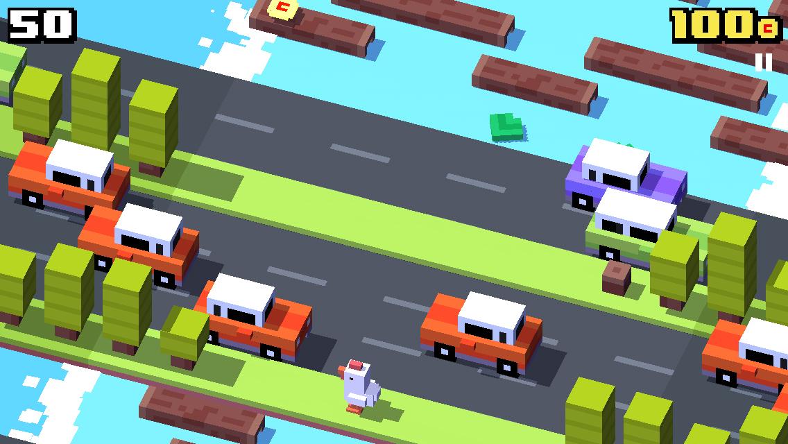 Crossy δρόμος, μια σύγχρονη έκδοση του παιχνιδιού του βατράχου περνώντας το δρόμο - Εικόνα 1 - Professor-falken.com