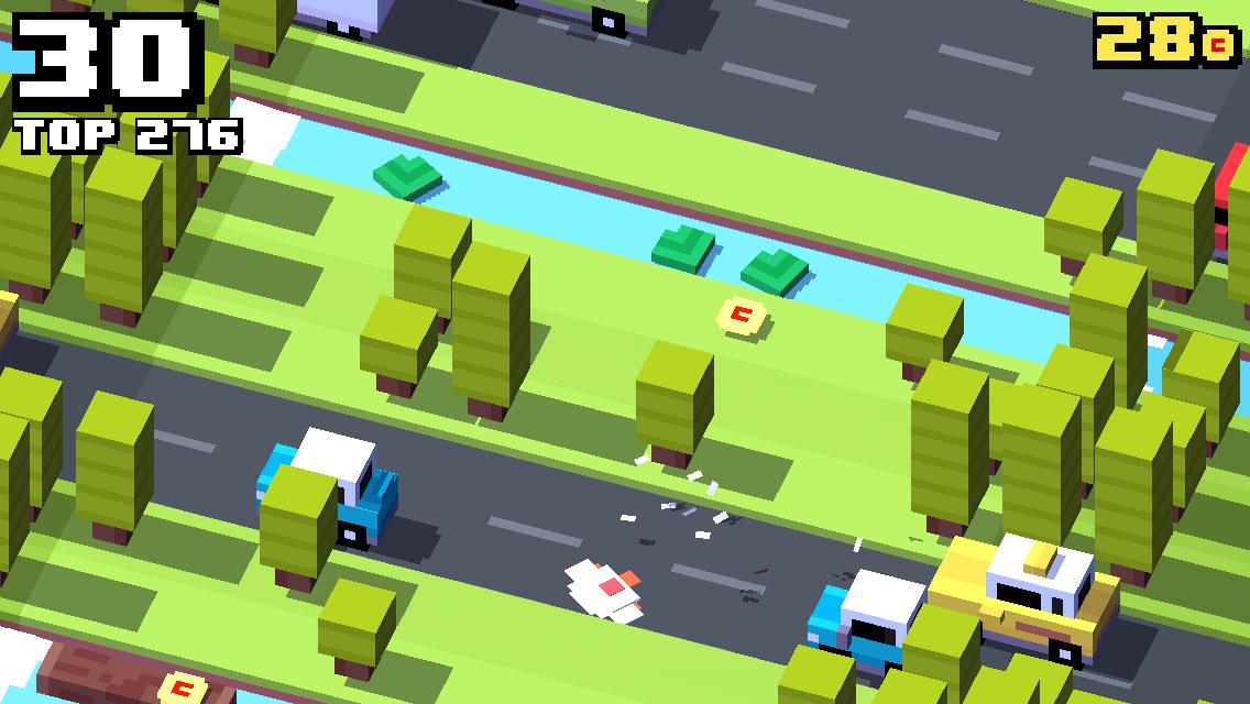 Crossy Road, una versión moderna del juego de la rana que cruza la carretera - Image 2 - professor-falken.com