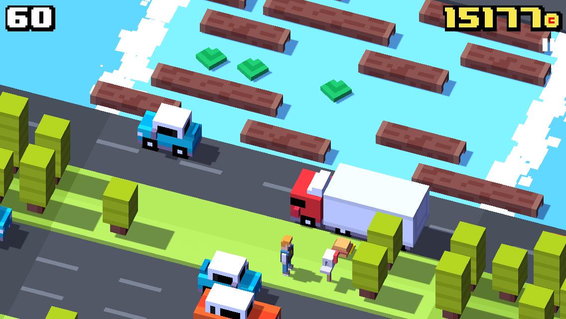 Crossy Road, una versión moderna del juego de la rana que cruza la carretera - Image 3 - professor-falken.com