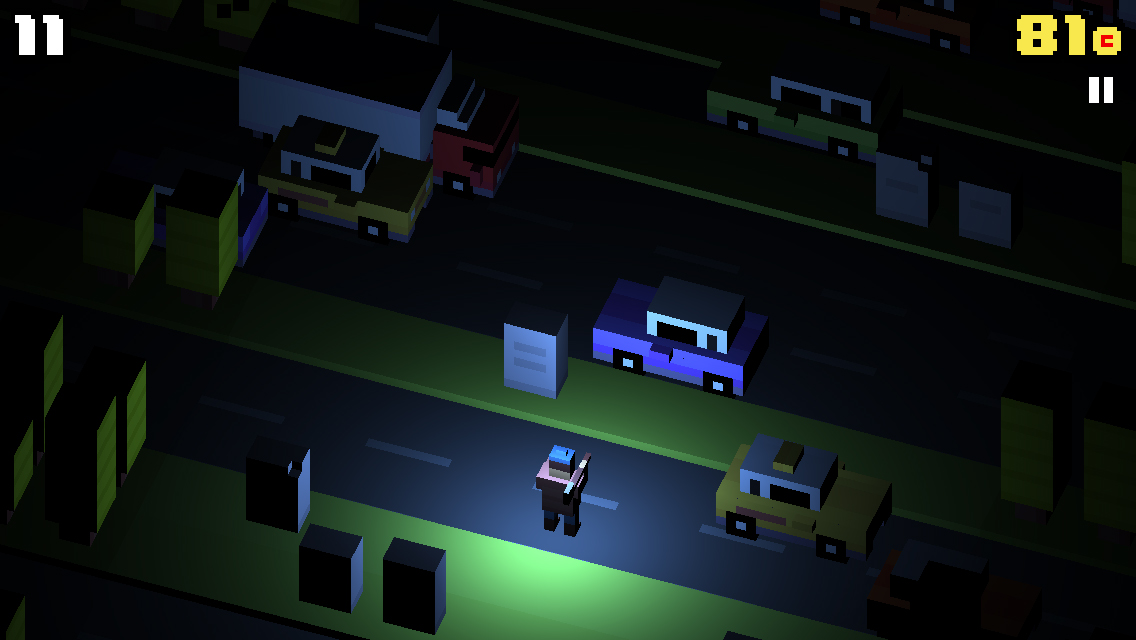 Crossy δρόμος, μια σύγχρονη έκδοση του παιχνιδιού του βατράχου περνώντας το δρόμο - Εικόνα 5 - Professor-falken.com
