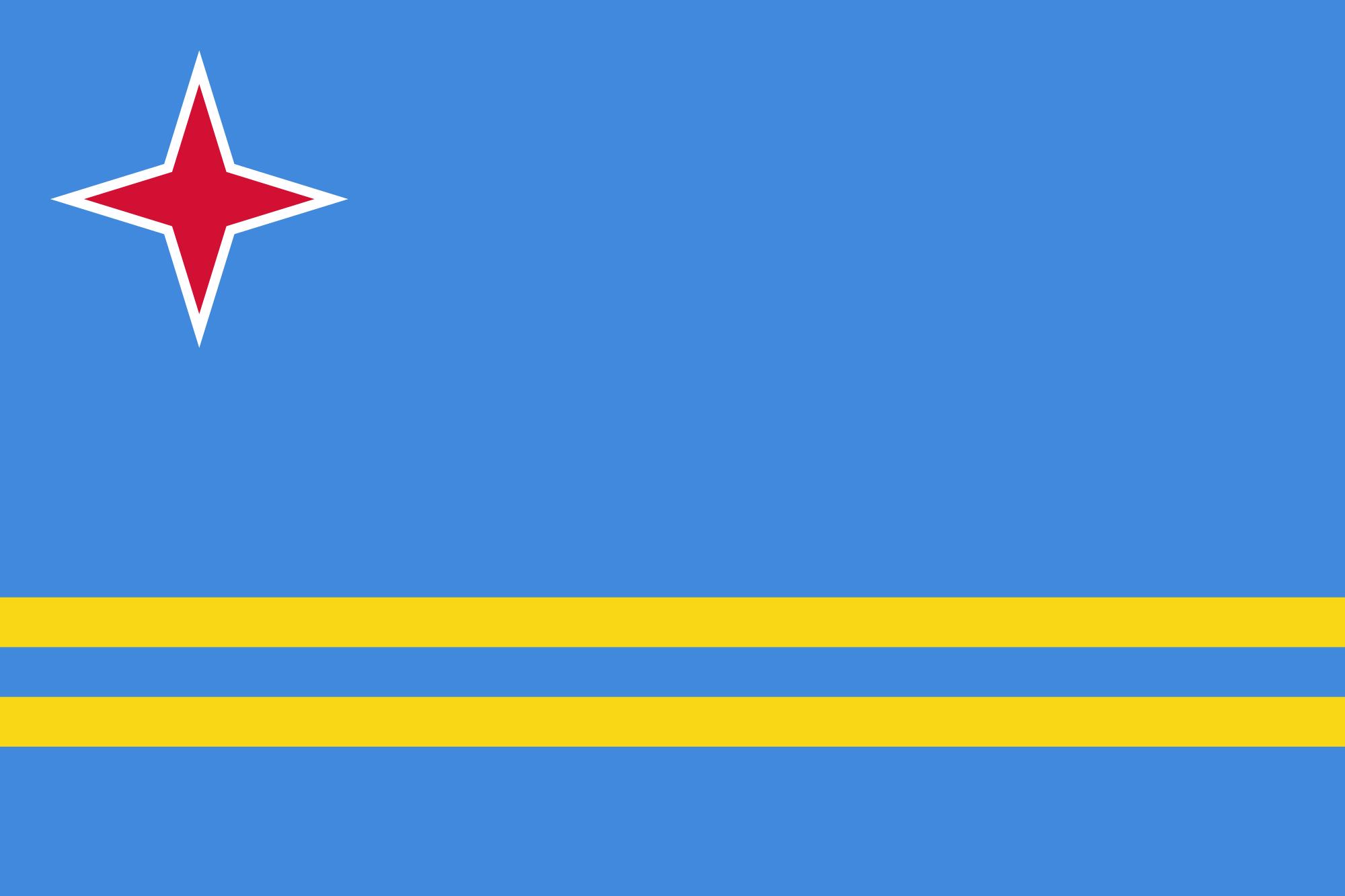 aruba, χώρα, έμβλημα, λογότυπο, σύμβολο - Wallpapers HD - Professor-falken.com