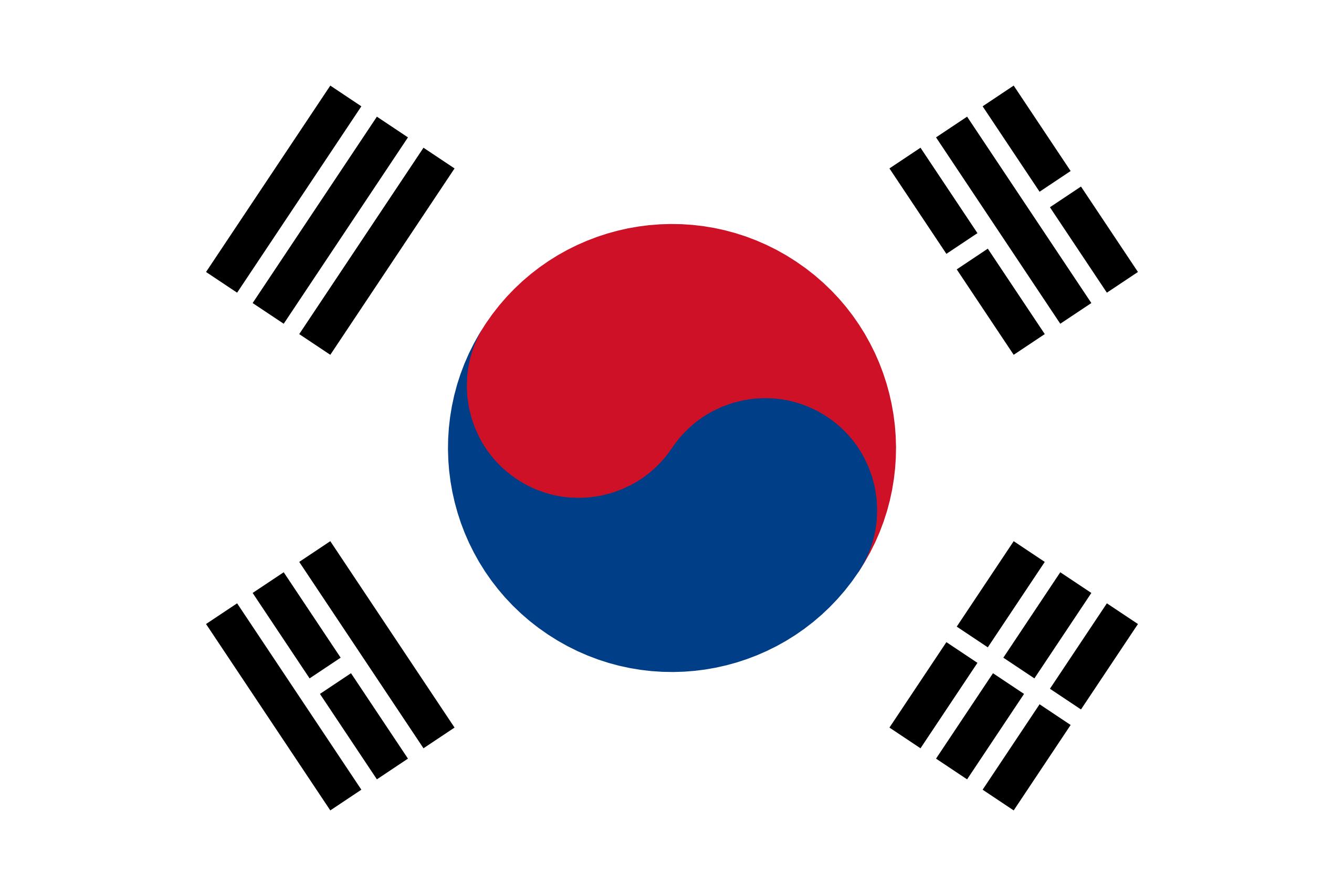 Corée du Sud, pays, emblème, logo, symbole - Fonds d'écran HD - Professor-falken.com