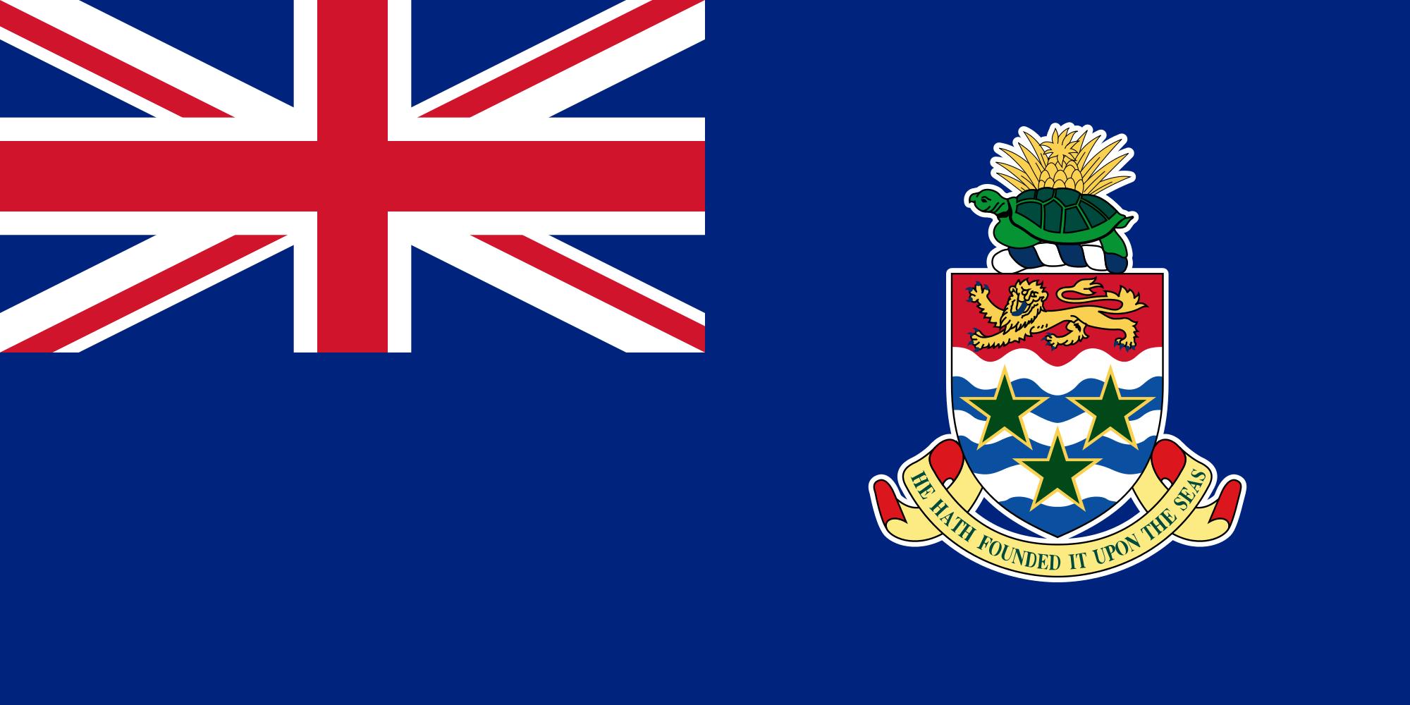 islas caimán, paese, emblema, logo, simbolo - Sfondi HD - Professor-falken.com