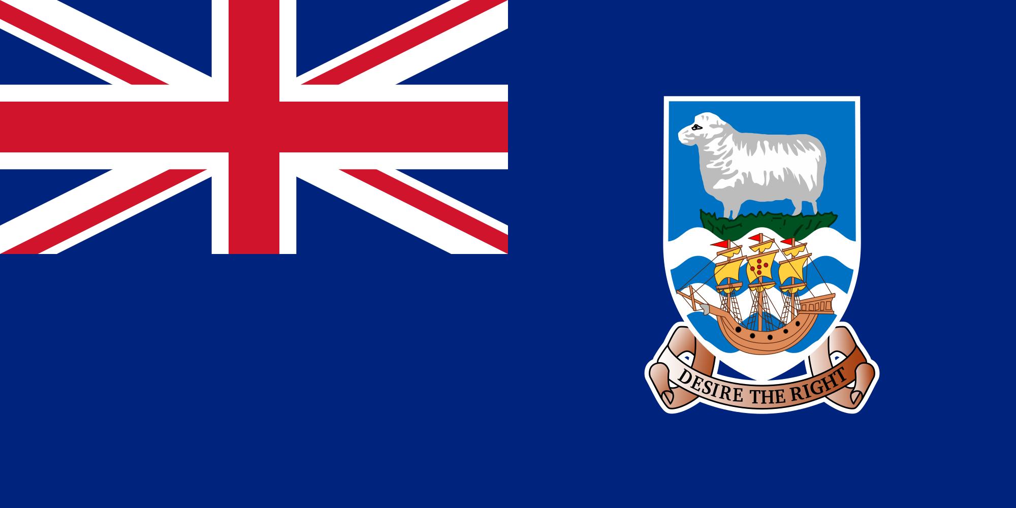islas malvinas, paese, emblema, logo, simbolo - Sfondi HD - Professor-falken.com