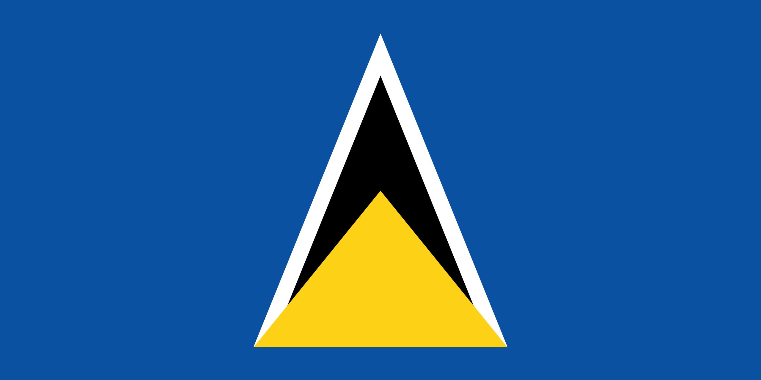 santa lucia, страна, Эмблема, логотип, символ - Обои HD - Профессор falken.com