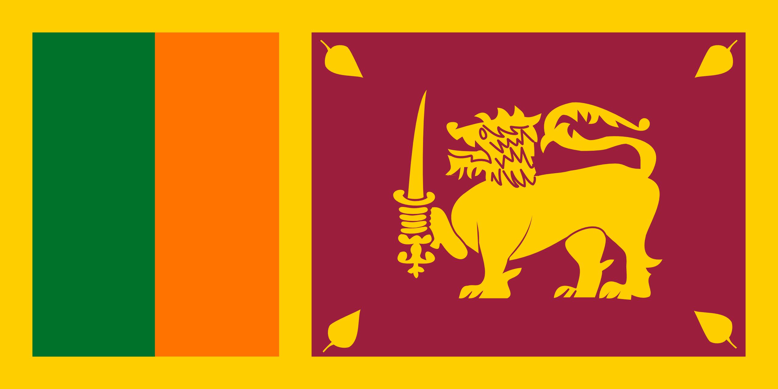 Sri lanka, pays, emblème, logo, symbole - Fonds d'écran HD - Professor-falken.com
