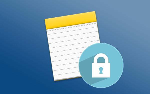 Cómo bloquear con una contraseña tus Notas en Mac - professor-falken