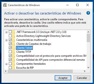 Como instalar o utilitário Telnet no Windows 10 - Imagem 3 - Professor-falken.com