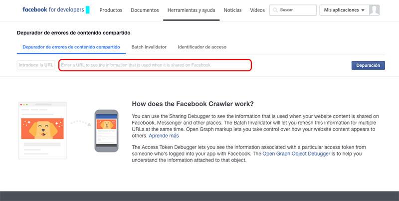 Πώς να καθαρίσει ή να ενημερώσετε το χώρο προσωρινής αποθήκευσης από μια διεύθυνση URL που έχετε κοινοποιήσει στο Facebook - Εικόνα 1 - Professor-falken.com