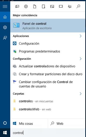 Quali sono i diversi modi per aprire il pannello di controllo in Windows 10 - Immagine 3 - Professor-falken.com