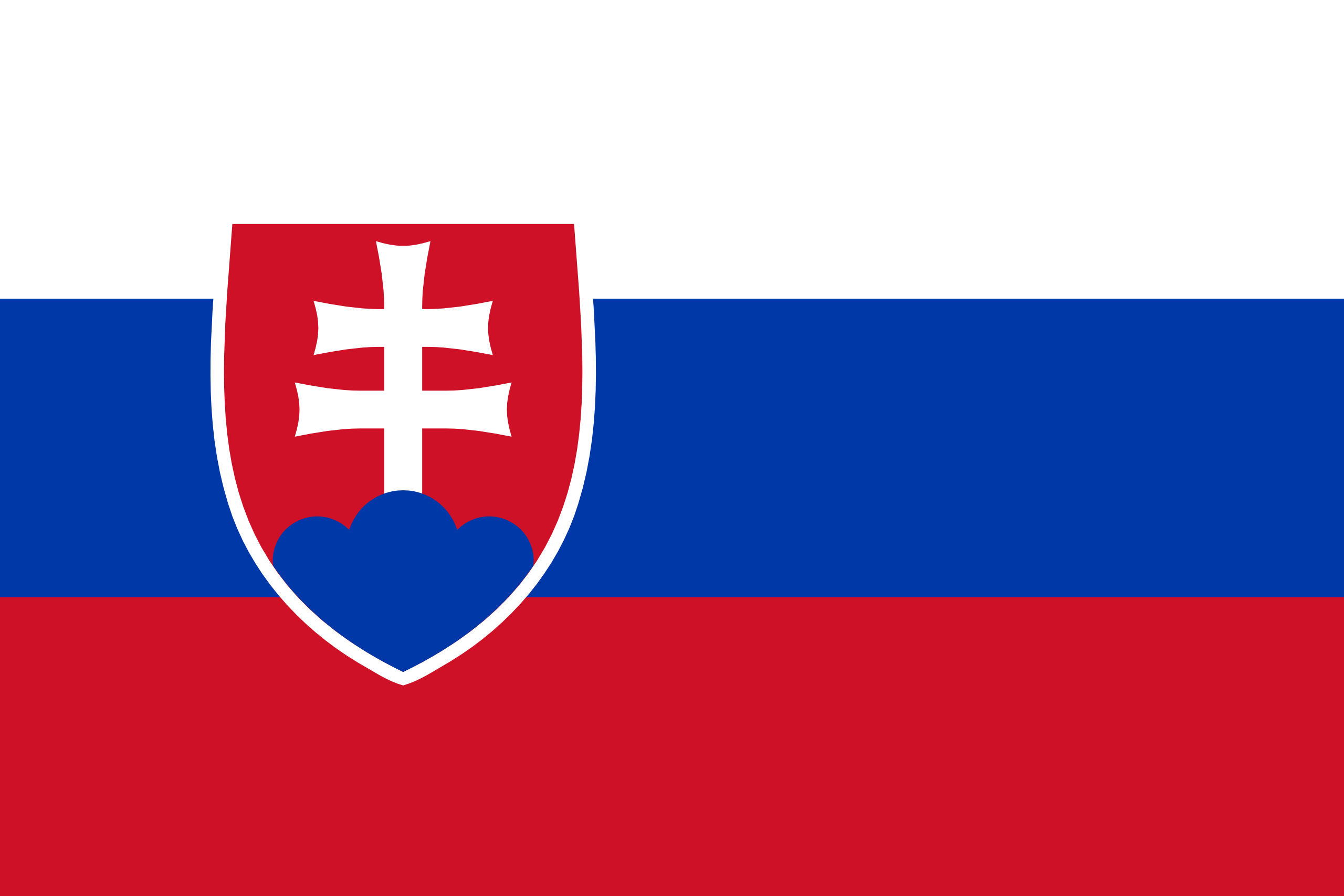 Slovaquie, pays, emblème, logo, symbole - Fonds d'écran HD - Professor-falken.com