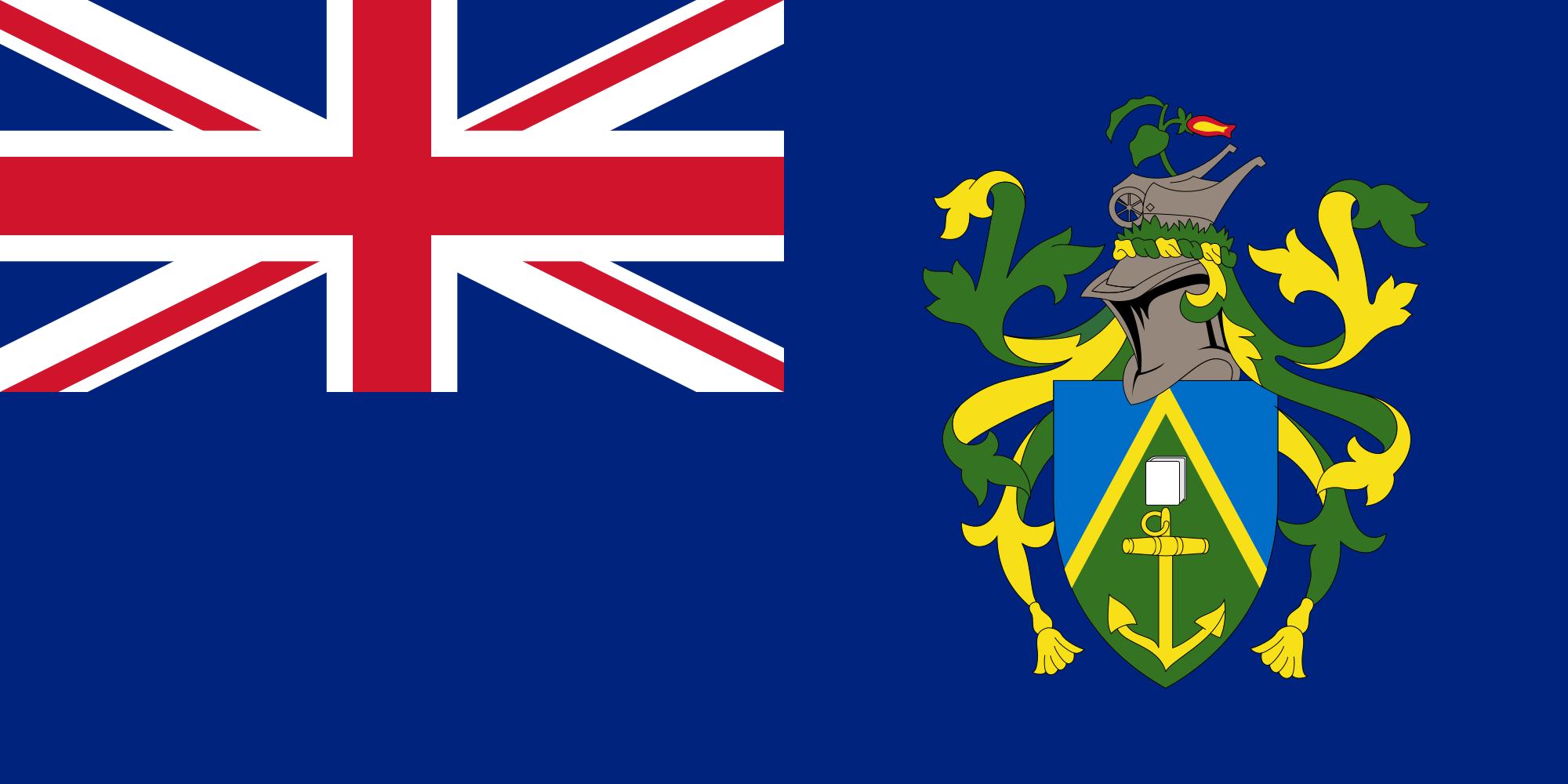 Isole pitcairn, paese, emblema, logo, simbolo - Sfondi HD - Professor-falken.com