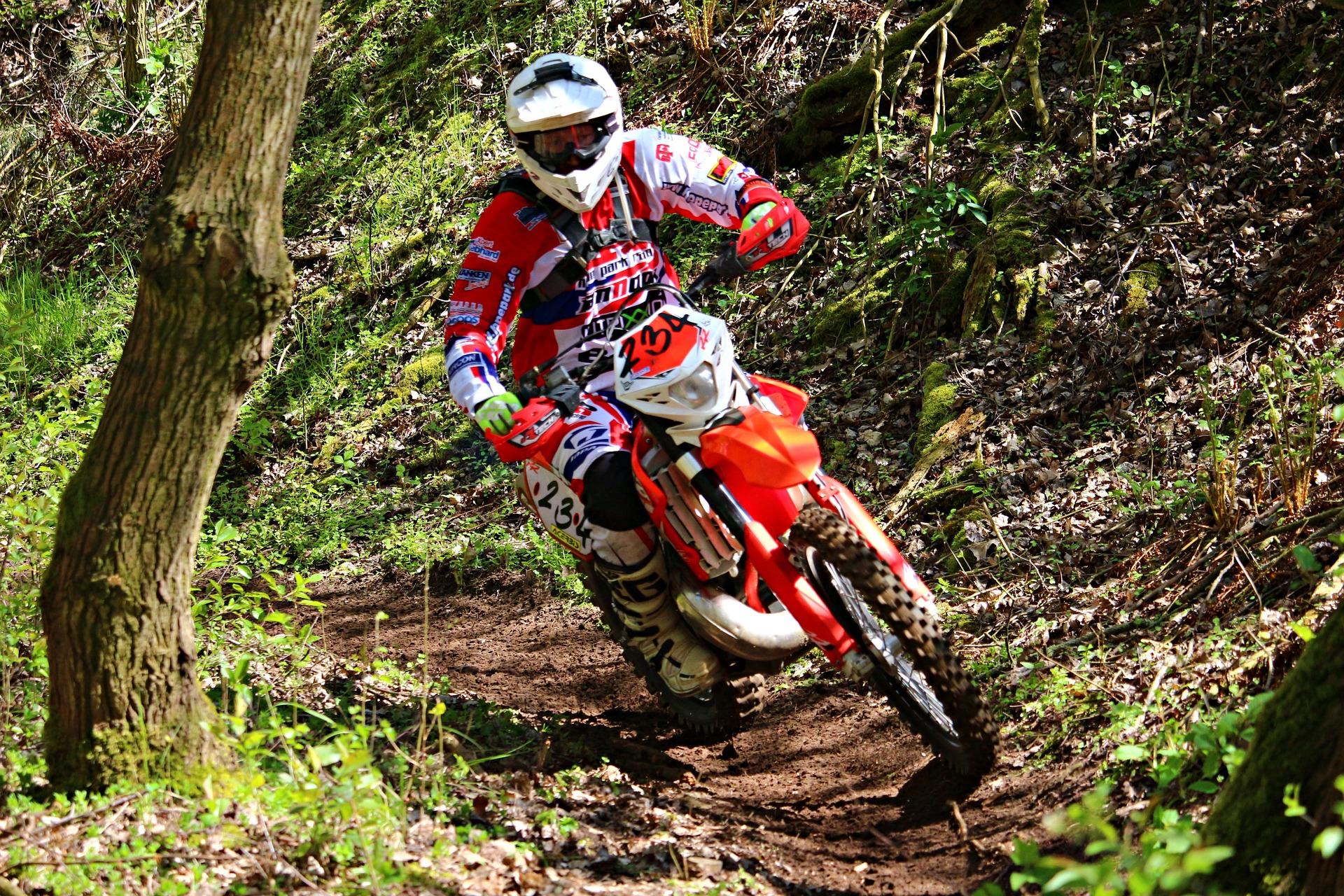 motocicleta, enduro,  motocross, riesgo, campo, casco - Fondos de Pantalla HD - professor-falken.com