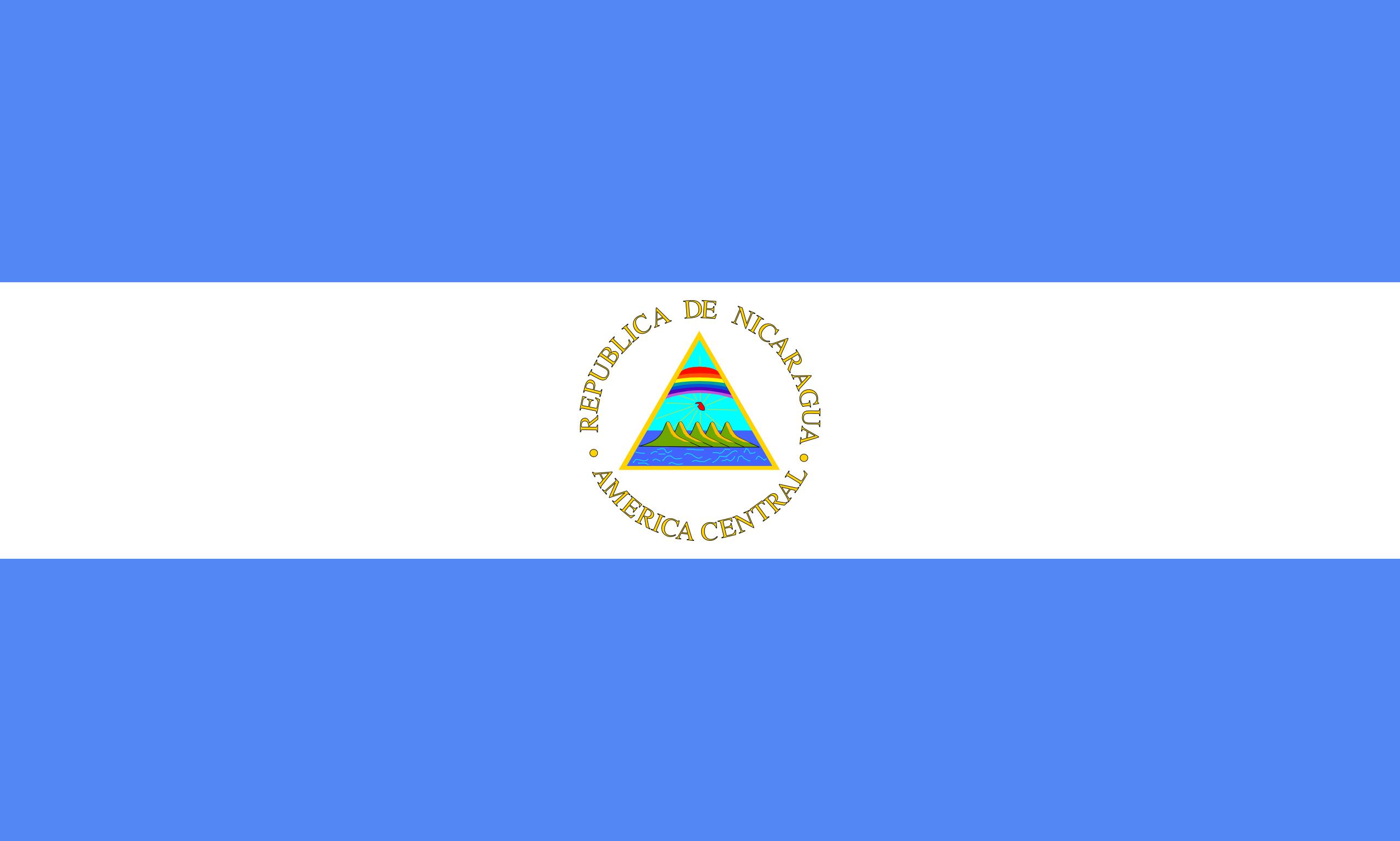 nicaragua, 国家, 会徽, 徽标, 符号 - 高清壁纸 - 教授-falken.com