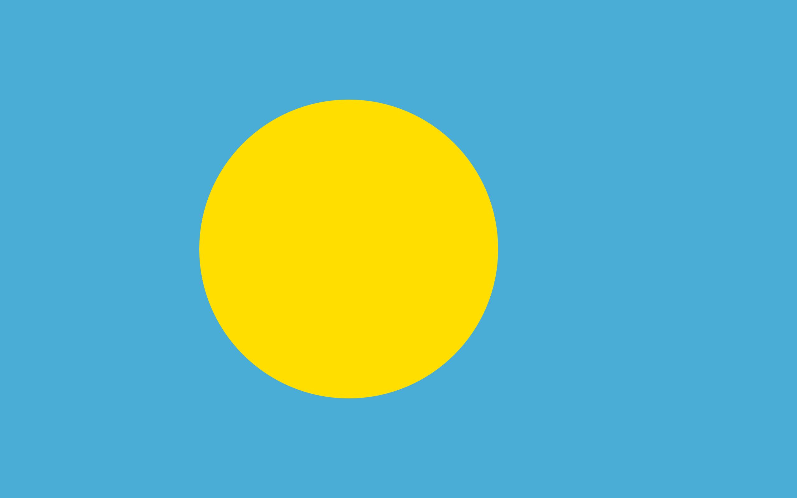 Palau, pays, emblème, logo, symbole - Fonds d'écran HD - Professor-falken.com