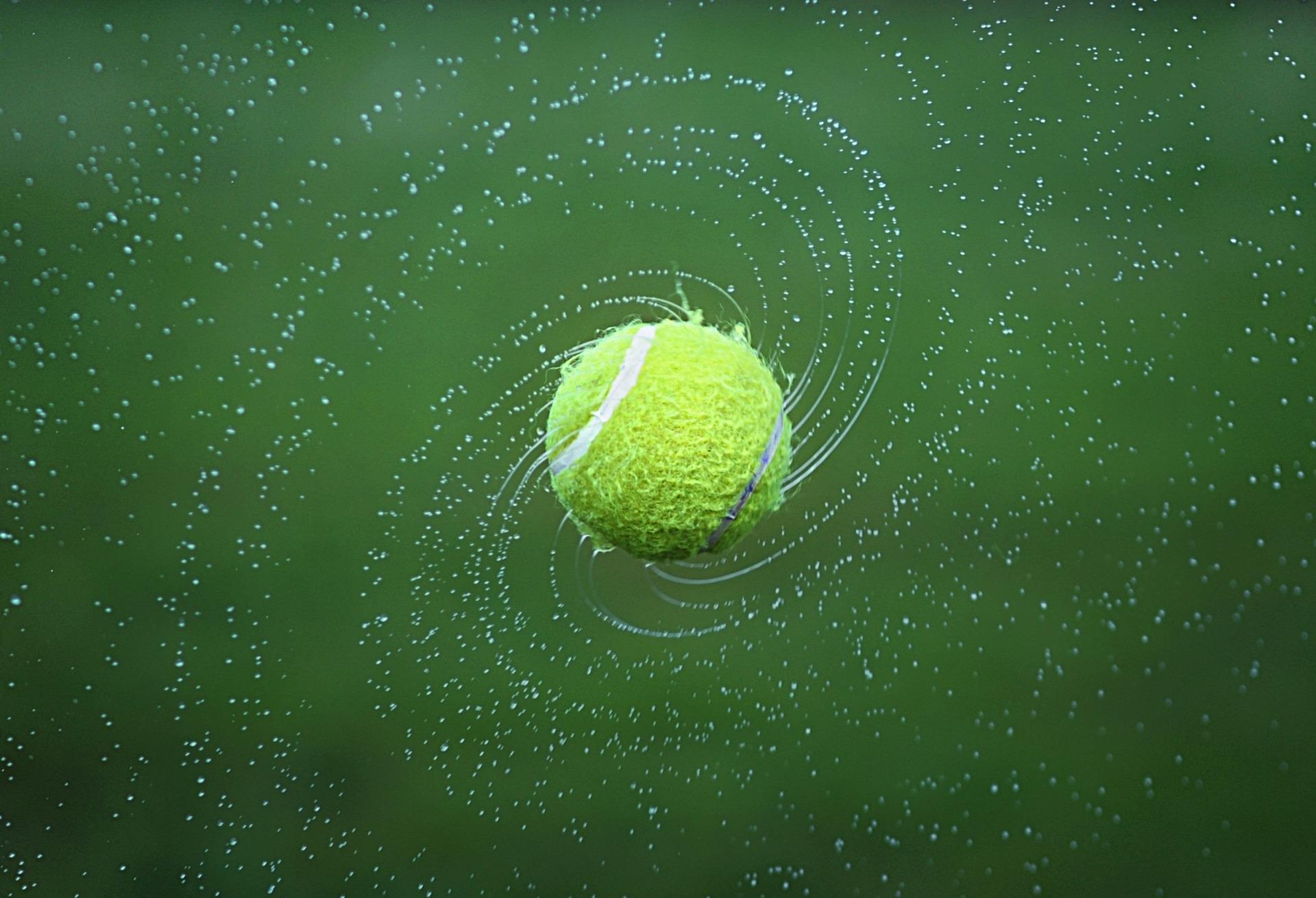 balle de tennis, Ball, Tennis, eau, Giro, Vert - Fonds d'ecran - Professor-falken.com