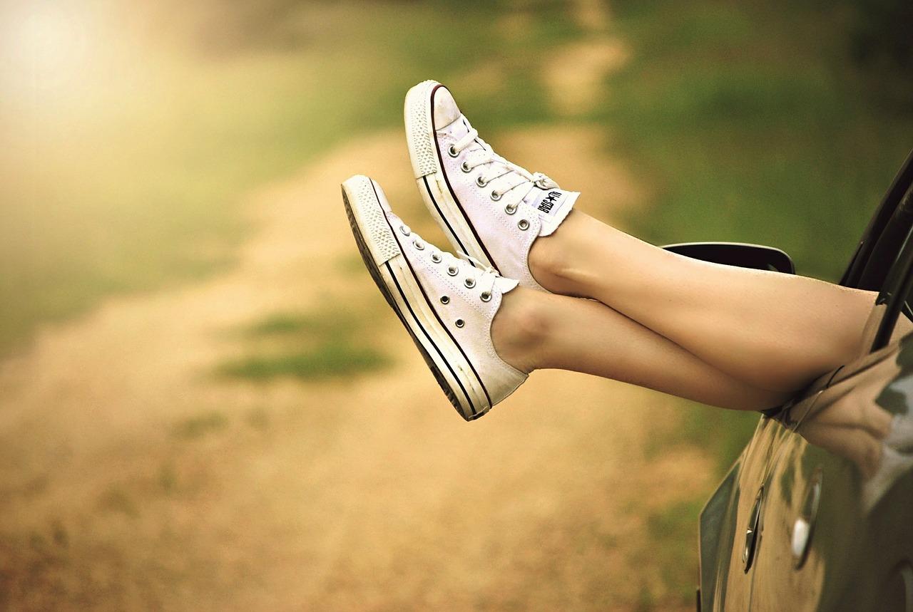 πόδια, μιας στάσης, αυτοκίνητο, Δρόμου, παπούτσια, ελευθερία, Χαλαρώστε, γυναίκα - Ταπετσαρίες - Professor-falken.com