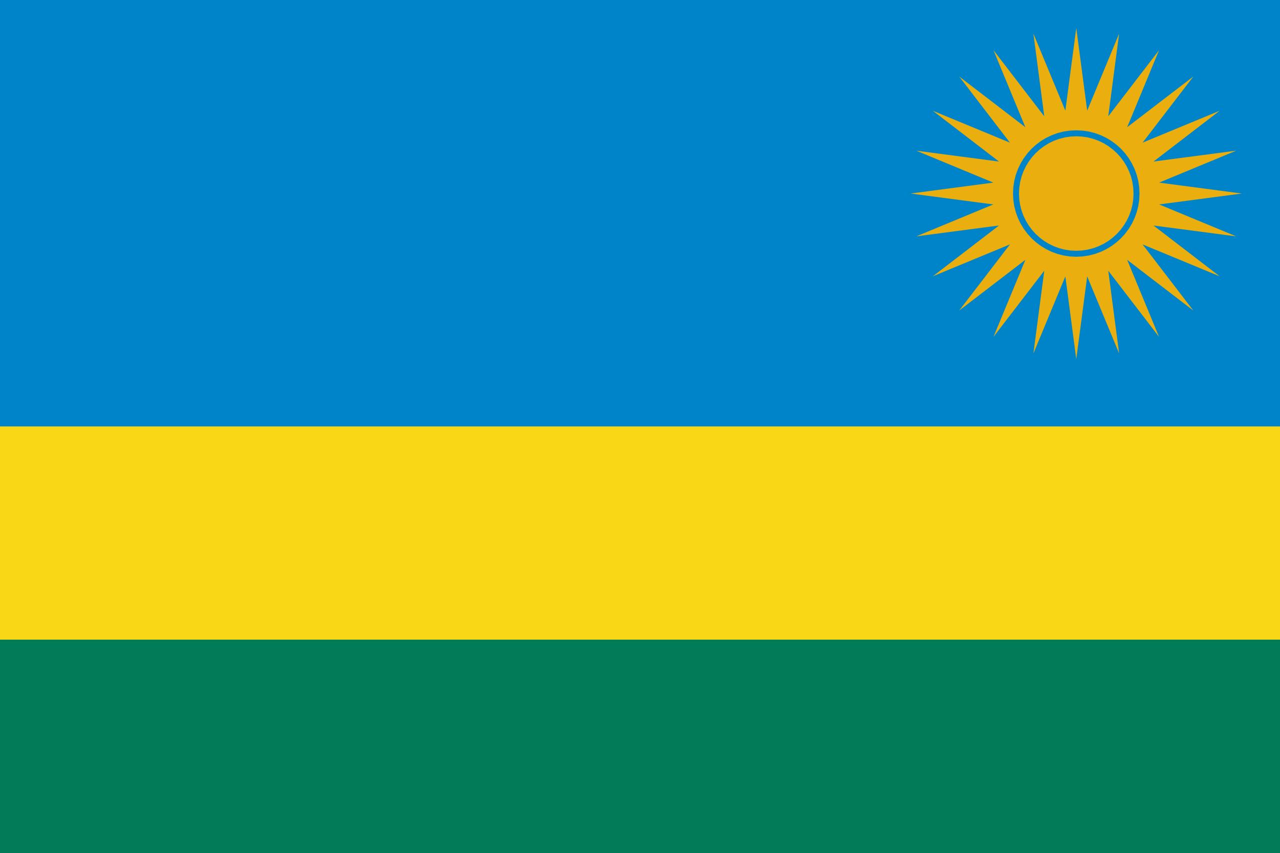 Rwanda, pays, emblème, logo, symbole - Fonds d'écran HD - Professor-falken.com