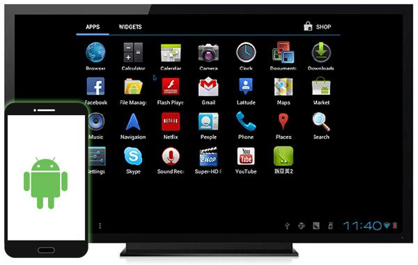 Как управлять ТВ Android от ваш смартфон Android - Профессор falken.com