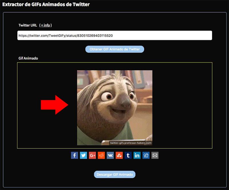 Как сохранить animados GIF от Twitter на вашем телефоне Android - Изображение 3 - Профессор falken.com