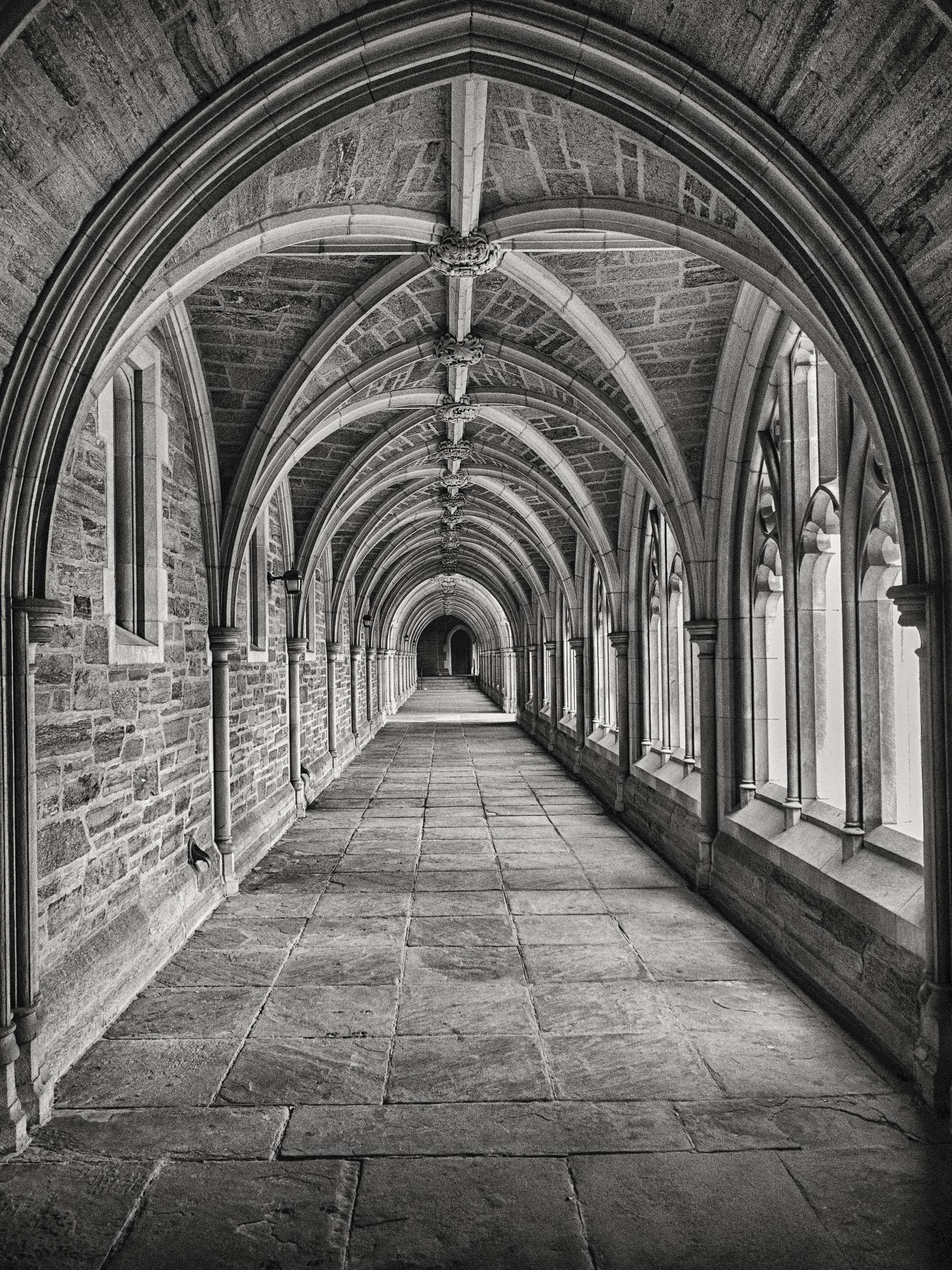 bâtiment, Arcos, architecture, vieux, en noir et blanc - Fonds d'écran HD - Professor-falken.com