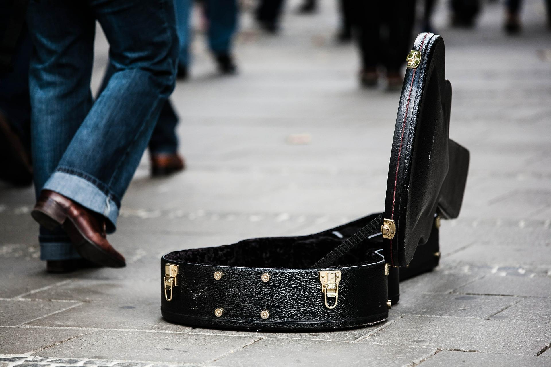 ミュージシャン, ストリート, ケース, ギター, お金, 寄付 - HD の壁紙 - 教授-falken.com