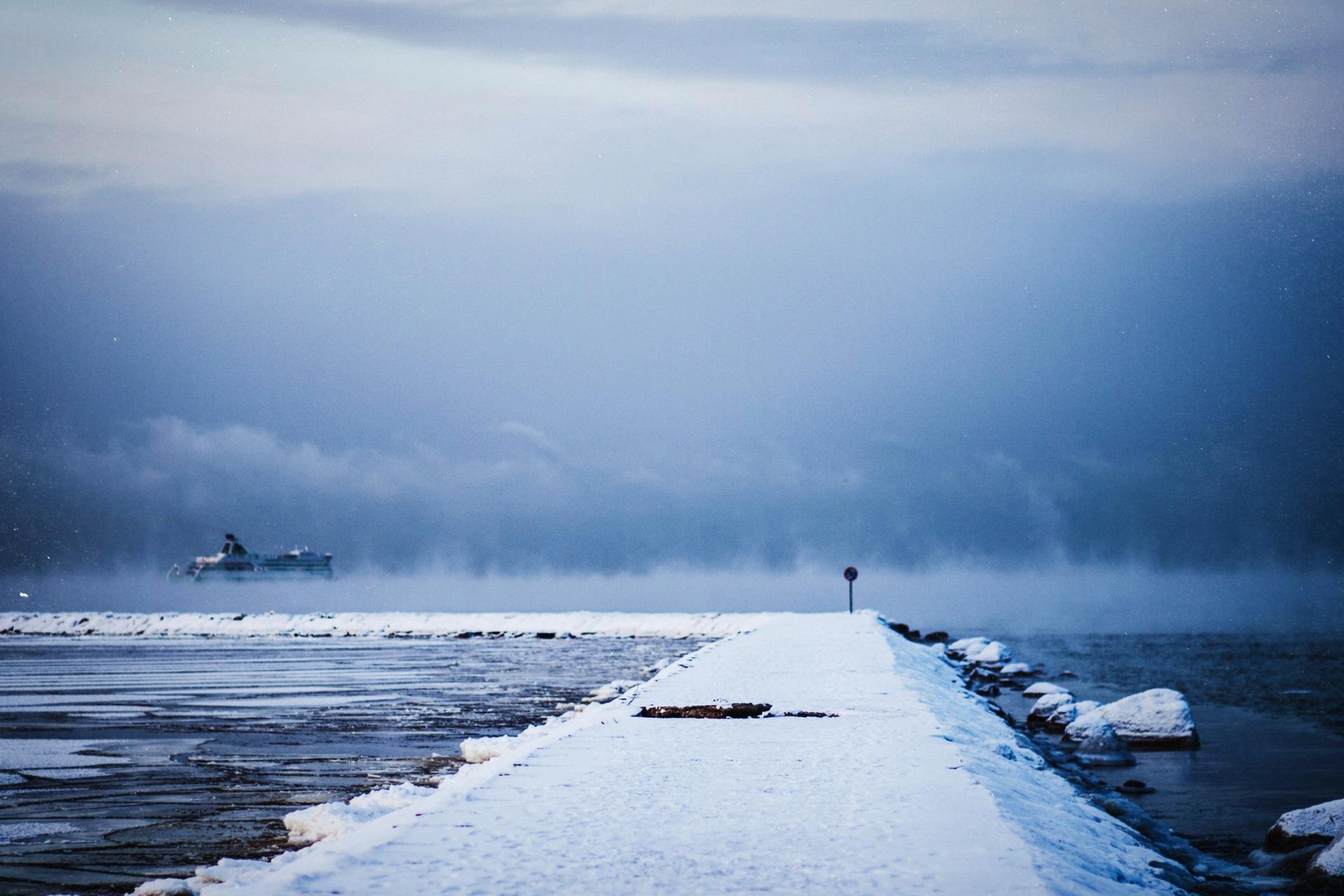 neige, glace, Mer, Océan, Hiver, bateau - Fonds d'écran HD - Professor-falken.com