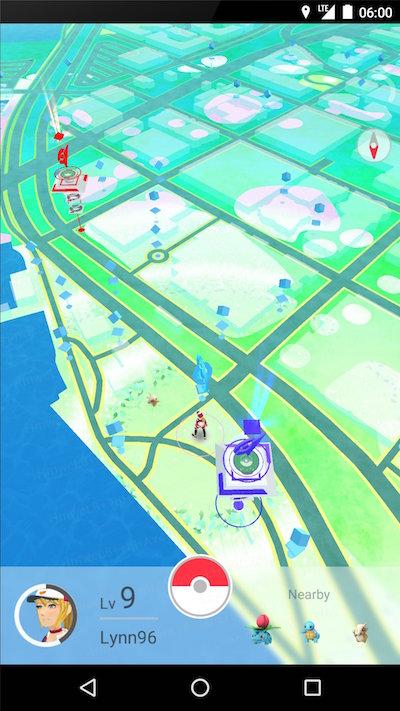 Pokemon Go, Scaricare un semplice gioco di pick-up che ha già milioni di giocatori - Immagine 2 - Professor-falken.com