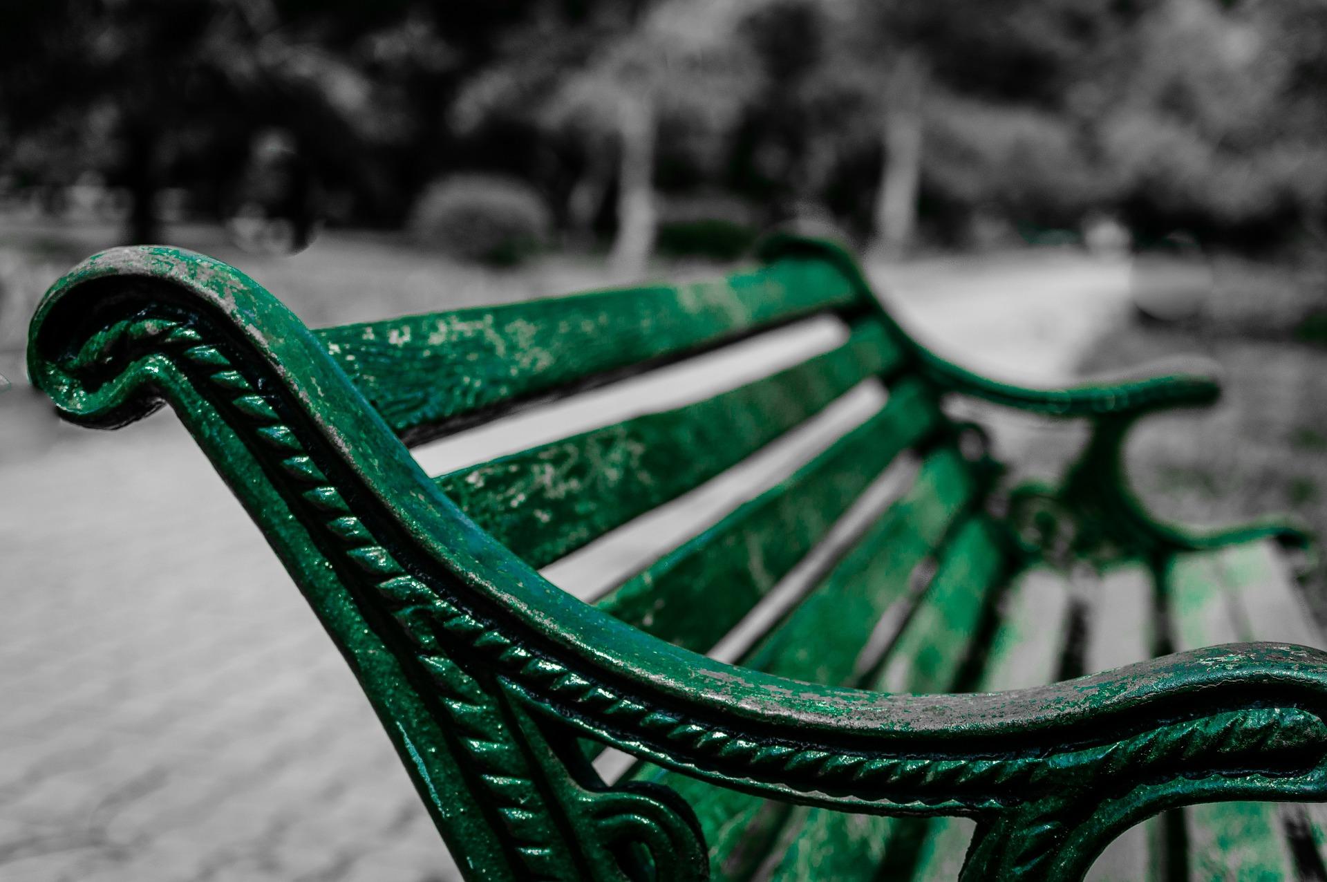 银行, 公园, 座位, 休息, 宁静, 放松 - 高清壁纸 - 教授-falken.com