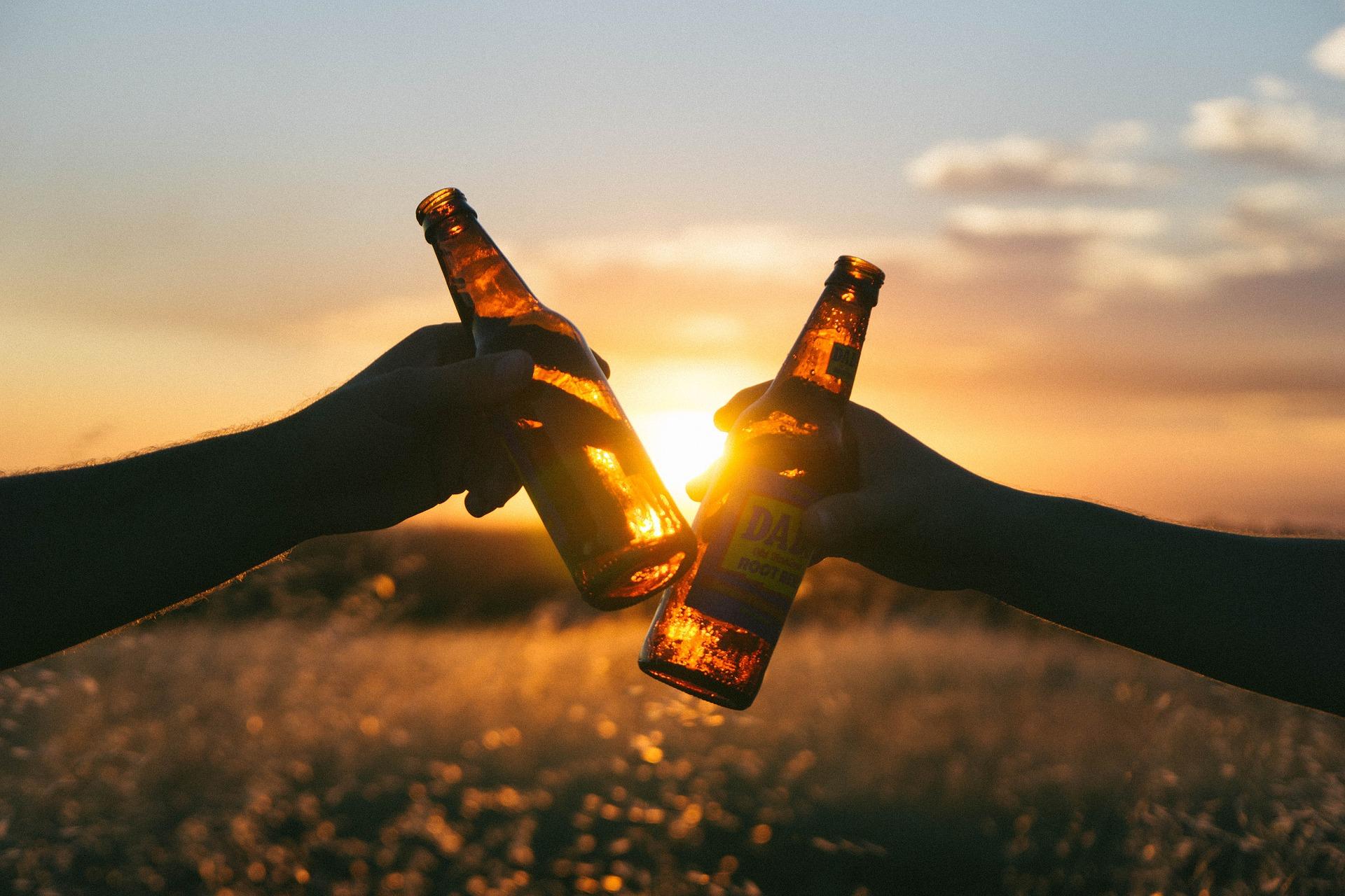 Toast, Freundschaft, Bier, paar, Entspannen Sie sich - Wallpaper HD - Prof.-falken.com