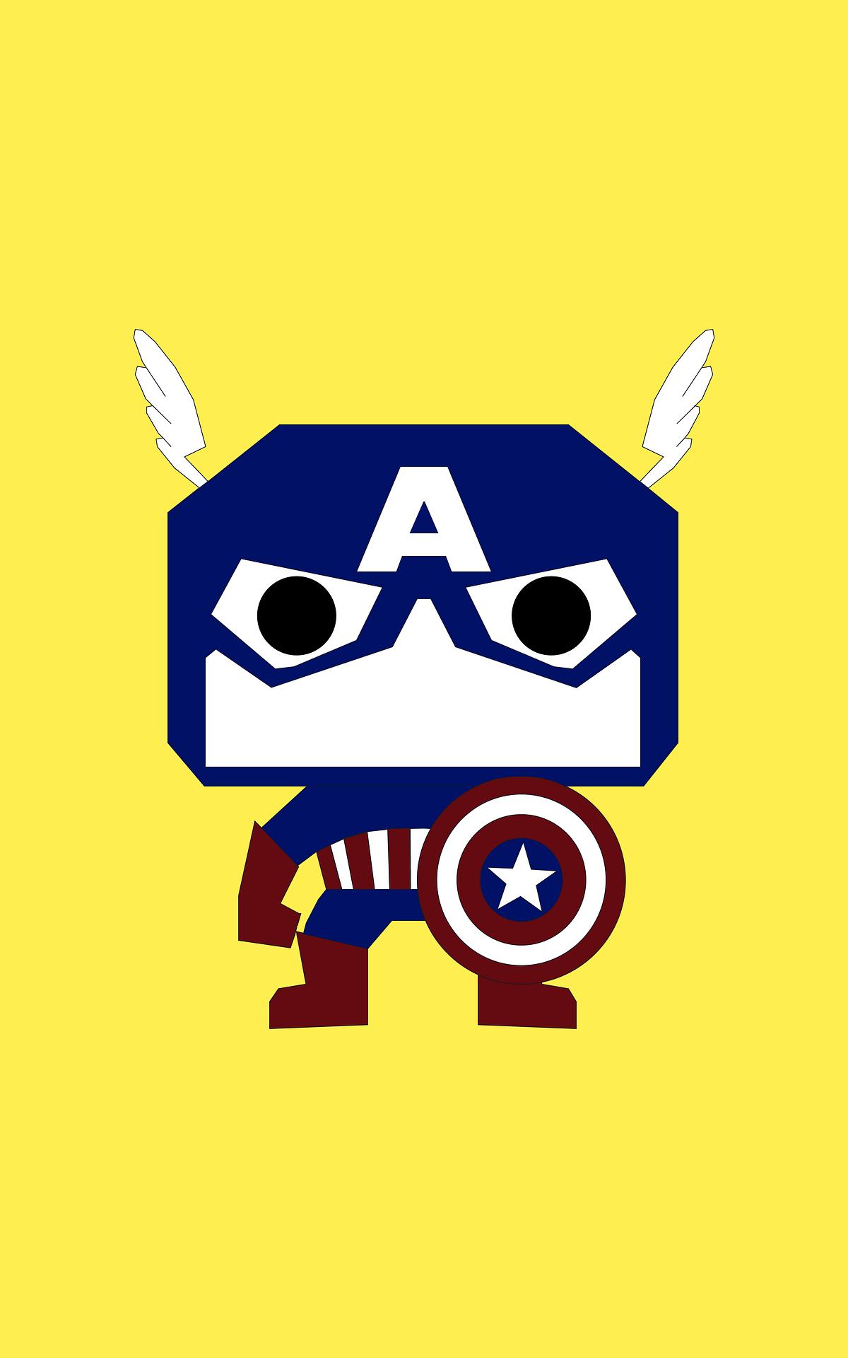 Capitan america, supereroe, Marvel, illustrazione, fumetti - Sfondi HD - Professor-falken.com