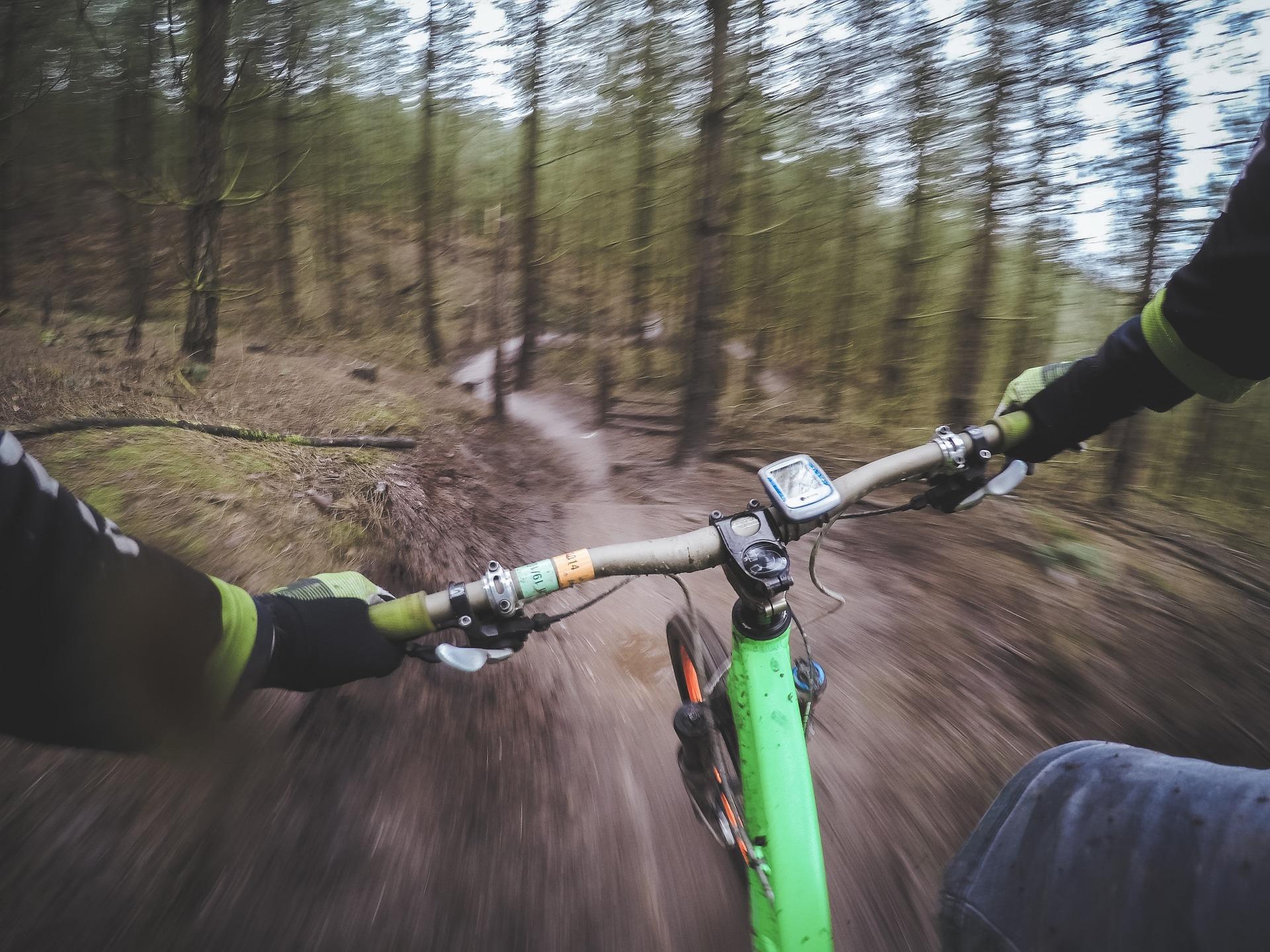 andar de bicicleta, bicicleta, Montanha, risco, final - Papéis de parede HD - Professor-falken.com