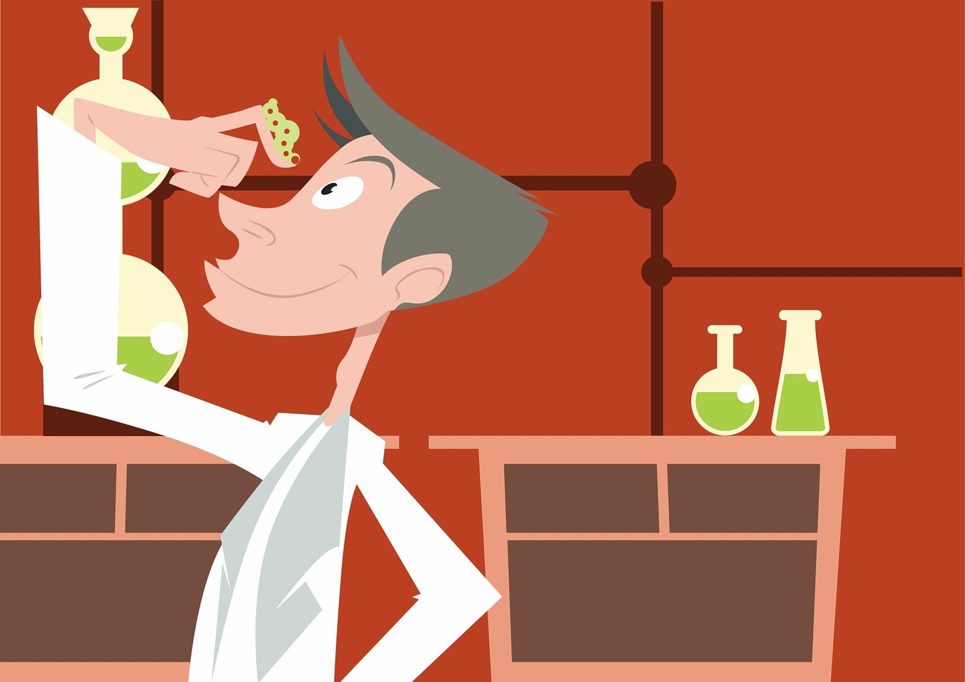 科学家, 实验室, 蠕虫, 试管, 巴塔 - 高清壁纸 - 教授-falken.com
