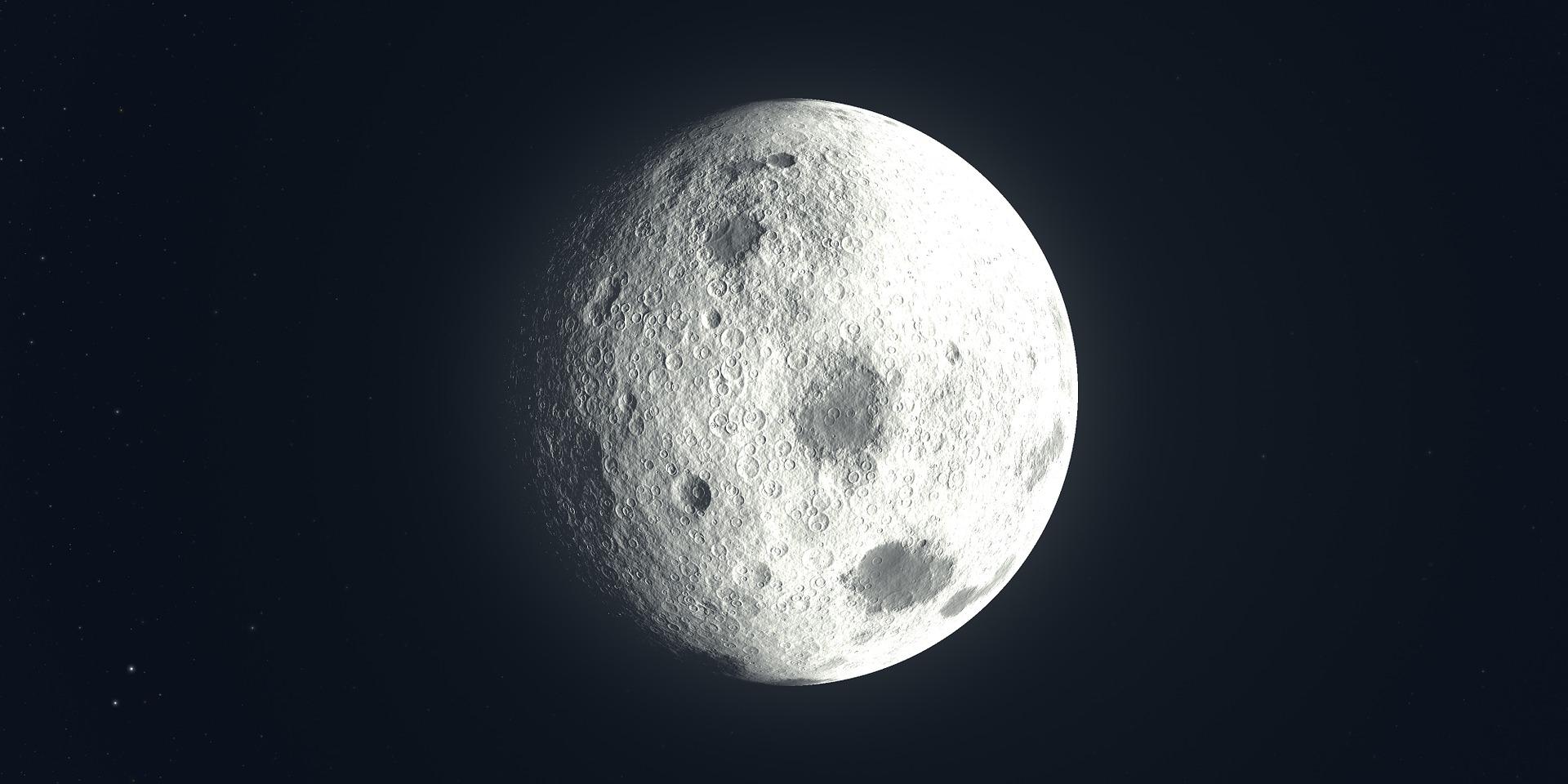 月亮, 卫星, 空间, 宇宙, 天文学 - 高清壁纸 - 教授-falken.com