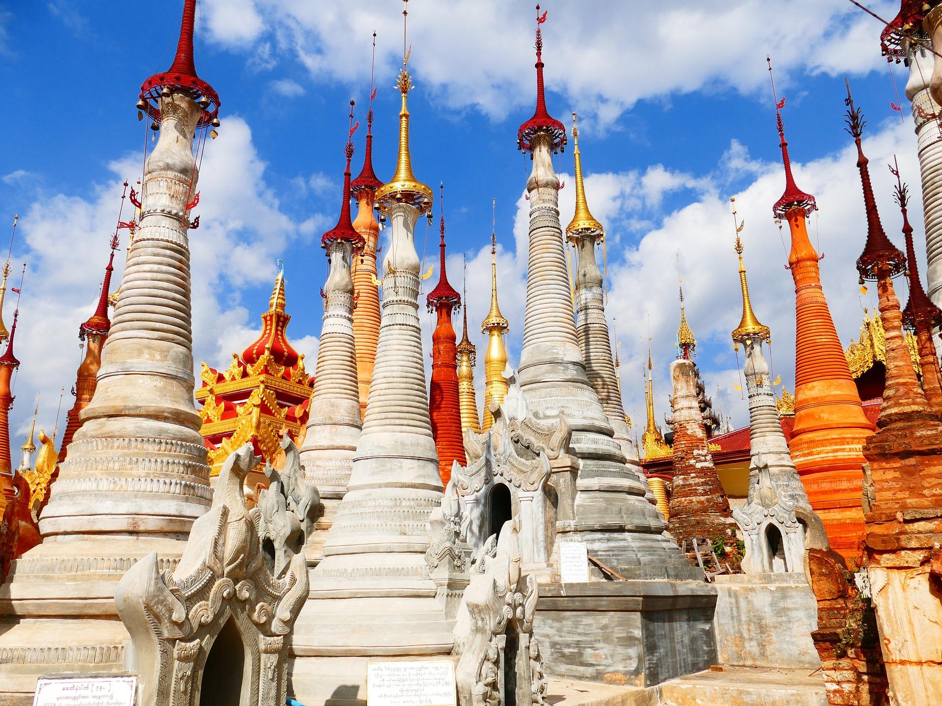 Ναός, Μιανμάρ, Βιρμανία, Παγόδα, Στούπα - Wallpapers HD - Professor-falken.com