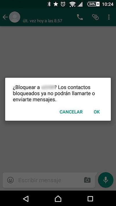Come bloccare / sbloccare un contatto WhatsApp - Immagine 3 - Professor-falken.com