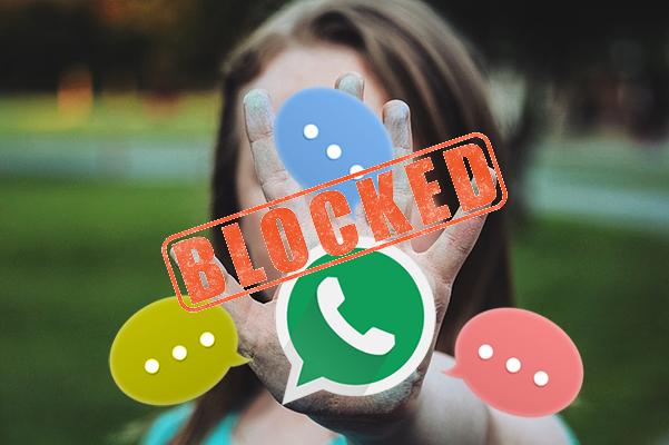 Como bloquear / desbloquear um contato do WhatsApp - Professor-falken.com