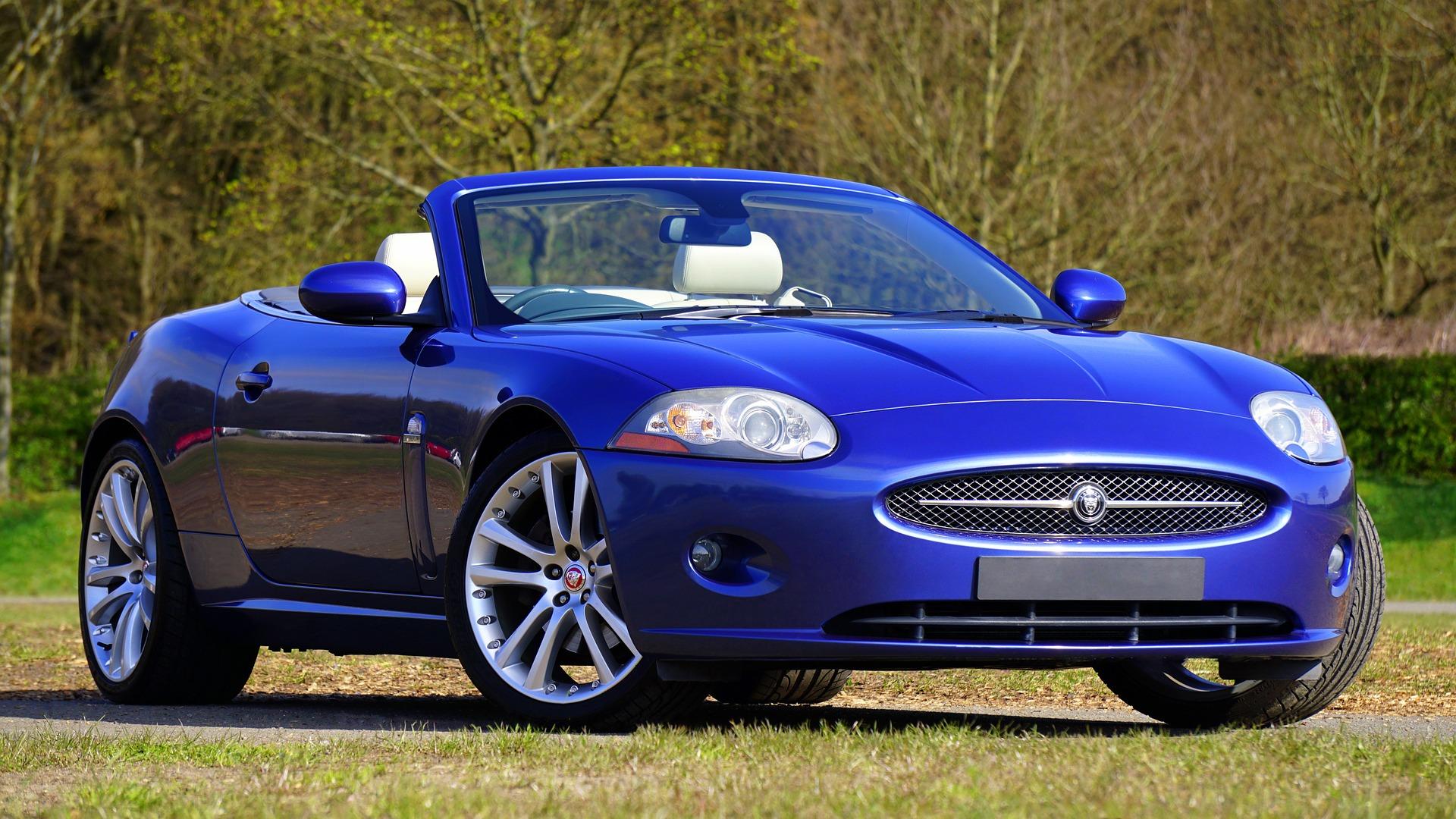 auto, Sport, lusso, Jaguar, Blu - Sfondi HD - Professor-falken.com