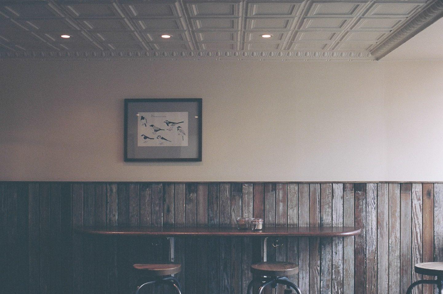 cuadro, pájaros, luces, bar, asientos - Fondos de Pantalla HD - professor-falken.com