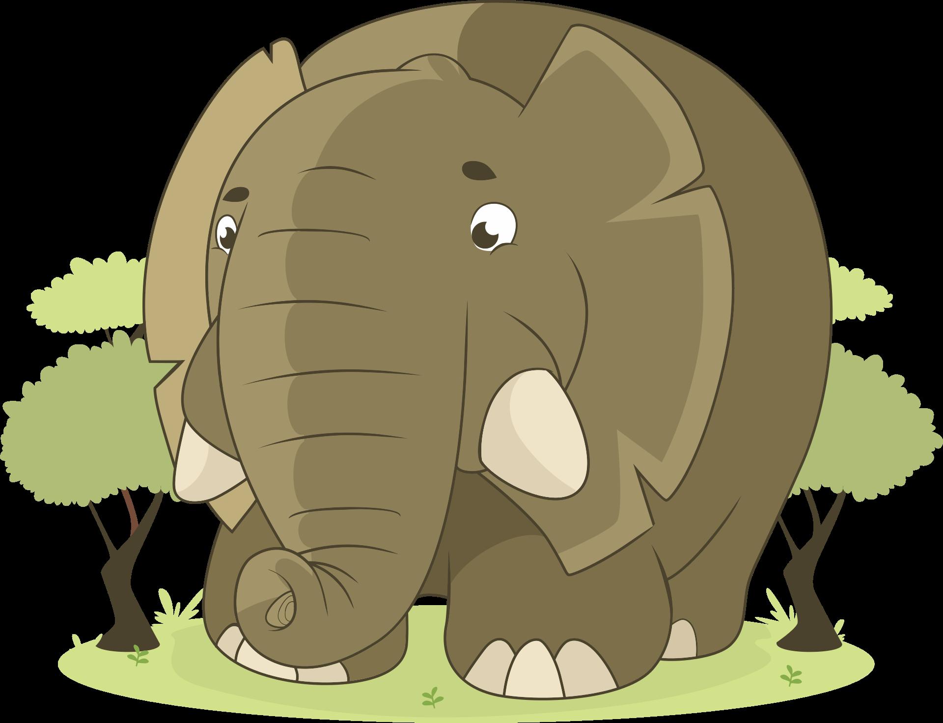 大象, 丛林, 萨凡纳, 非洲, 大 - 高清壁纸 - 教授-falken.com