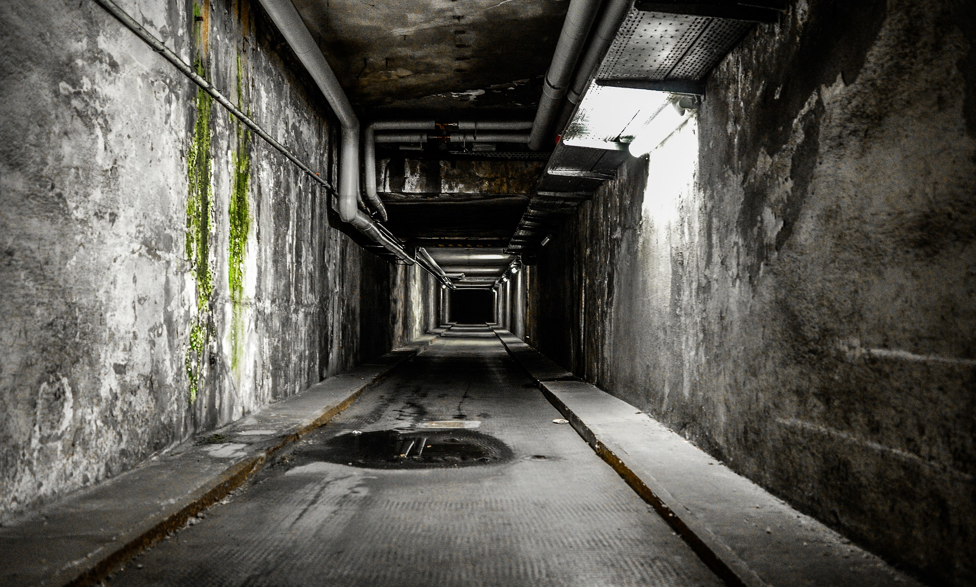 pasadizo, túnel, escalofrío, miedo, oscuridad - Fondos de Pantalla HD - professor-falken.com